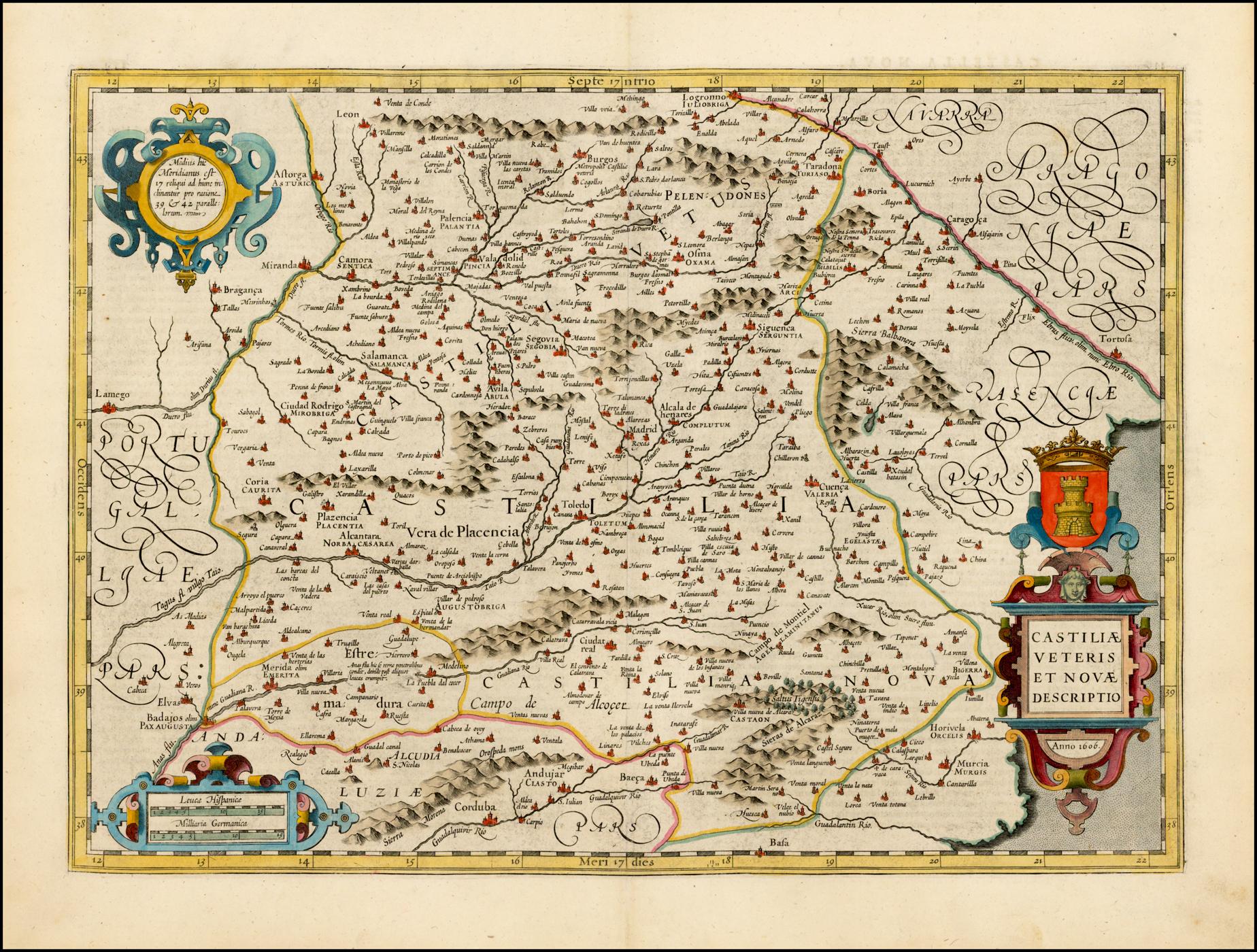 File Mapa De Castilla En 1606 02 Jpg Wikimedia Commons