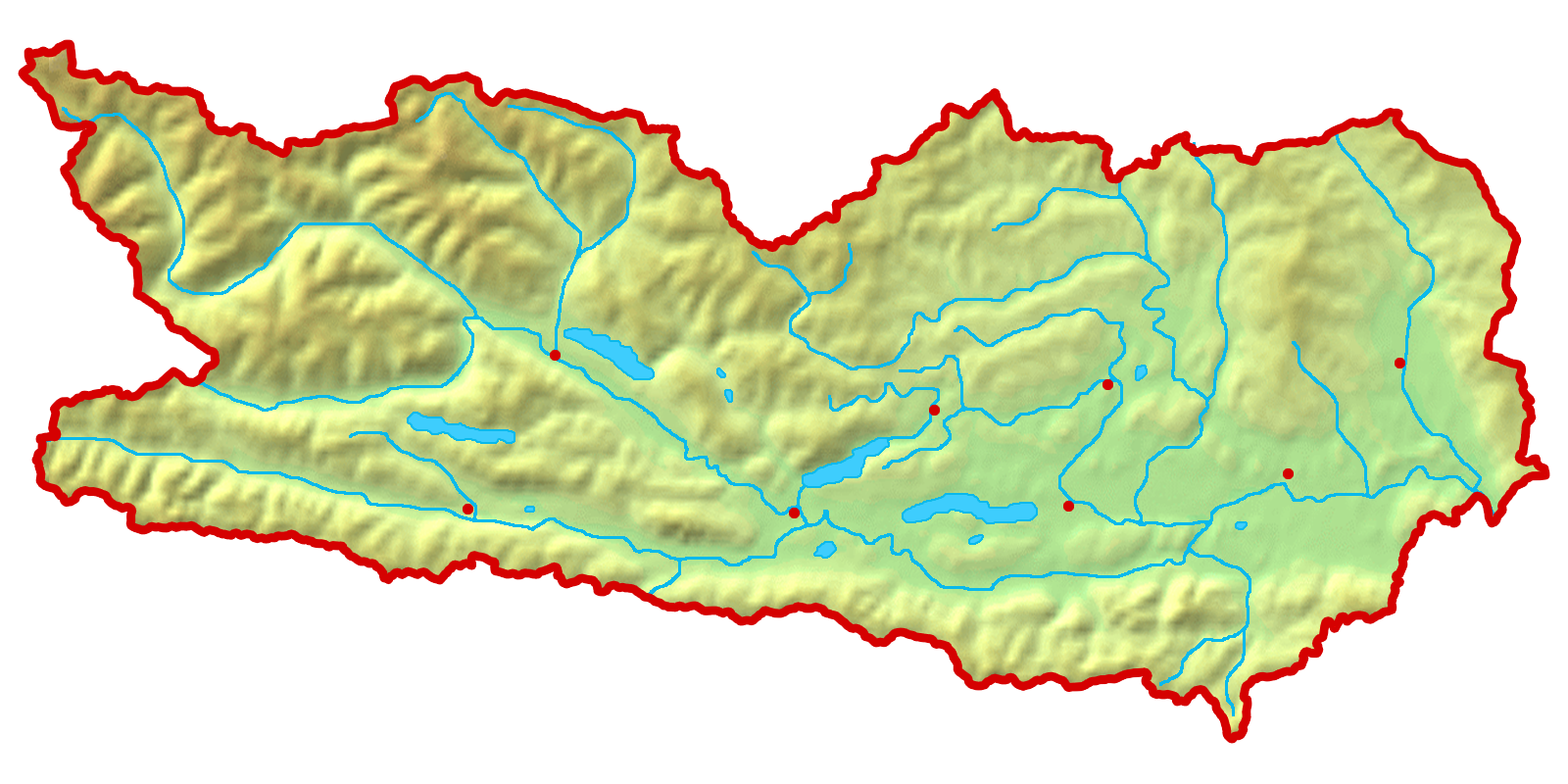 File Map At Carinthia Topo Hillshading Png Wikimedia Commons