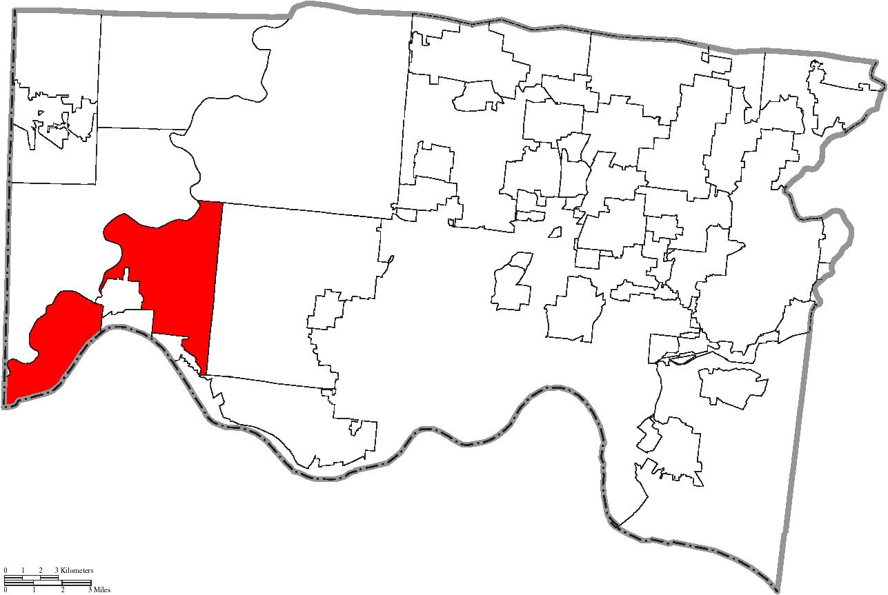 Miami Township Ohio Map.File Map Of Hamilton County Ohio Highlighting Miami Township Png