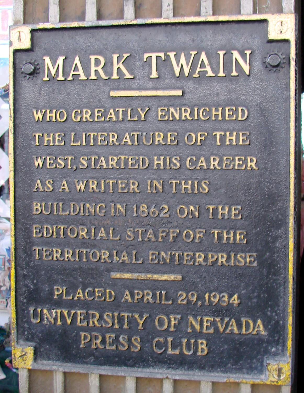 Adventures of Mark Twain in Virginia city