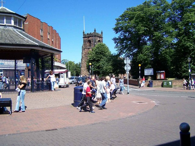 Market Place, Cannock - geograph.org.uk - 202759