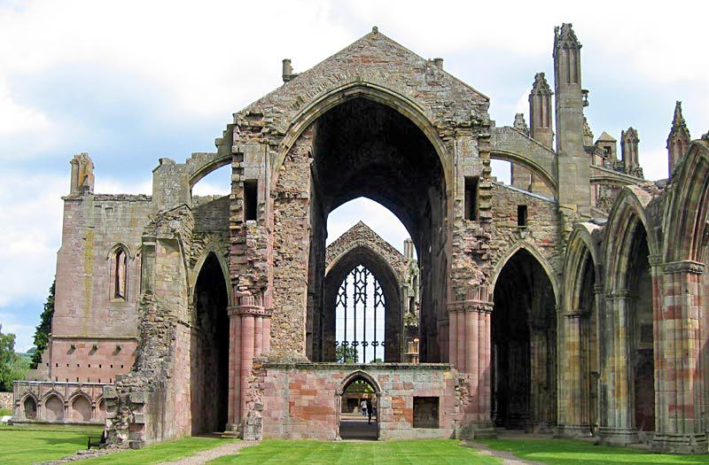 Katedra w Melrose