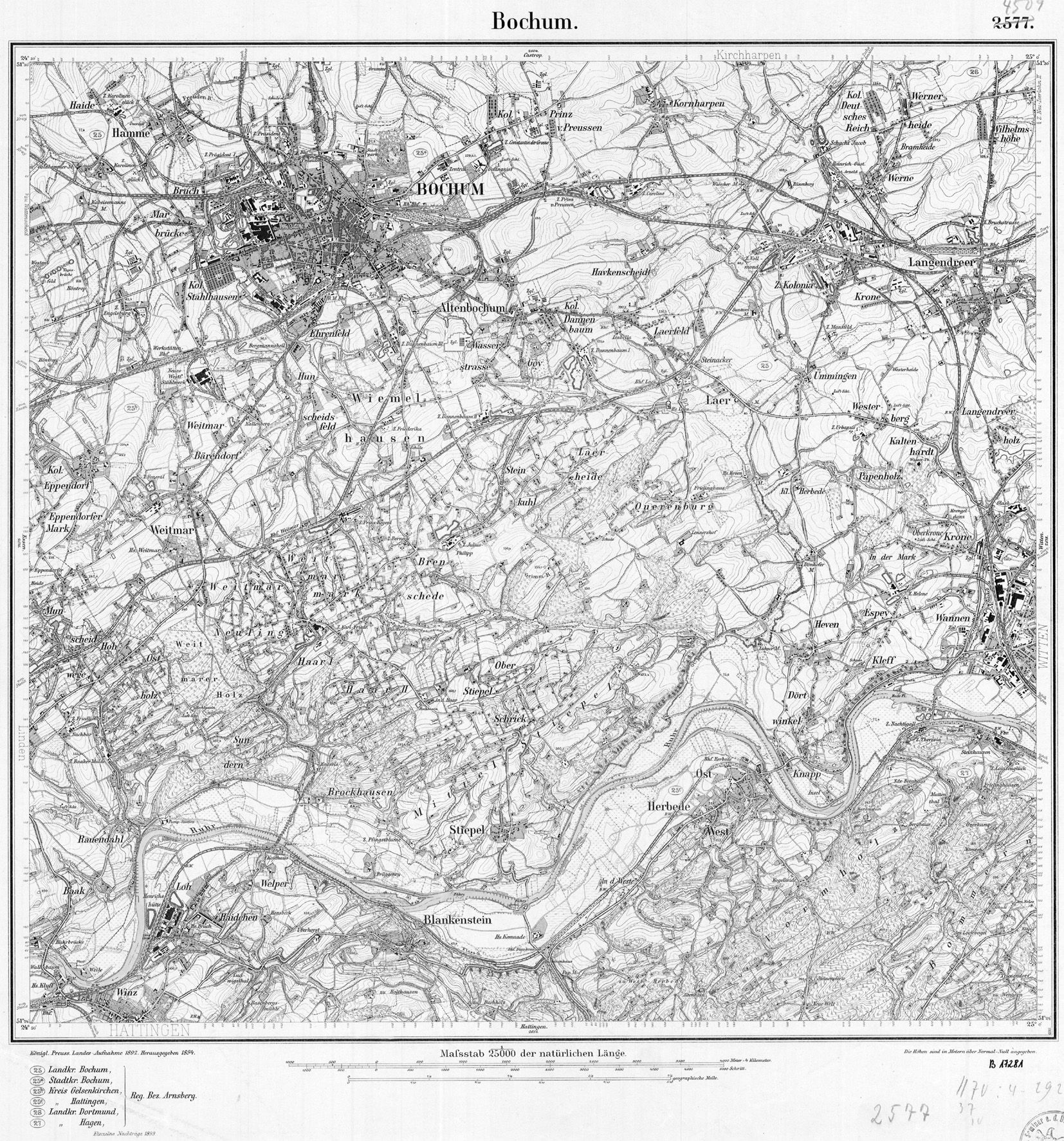 file:messtischblatt 4509 bochum 1899 - wikimedia commons, Esstisch ideennn