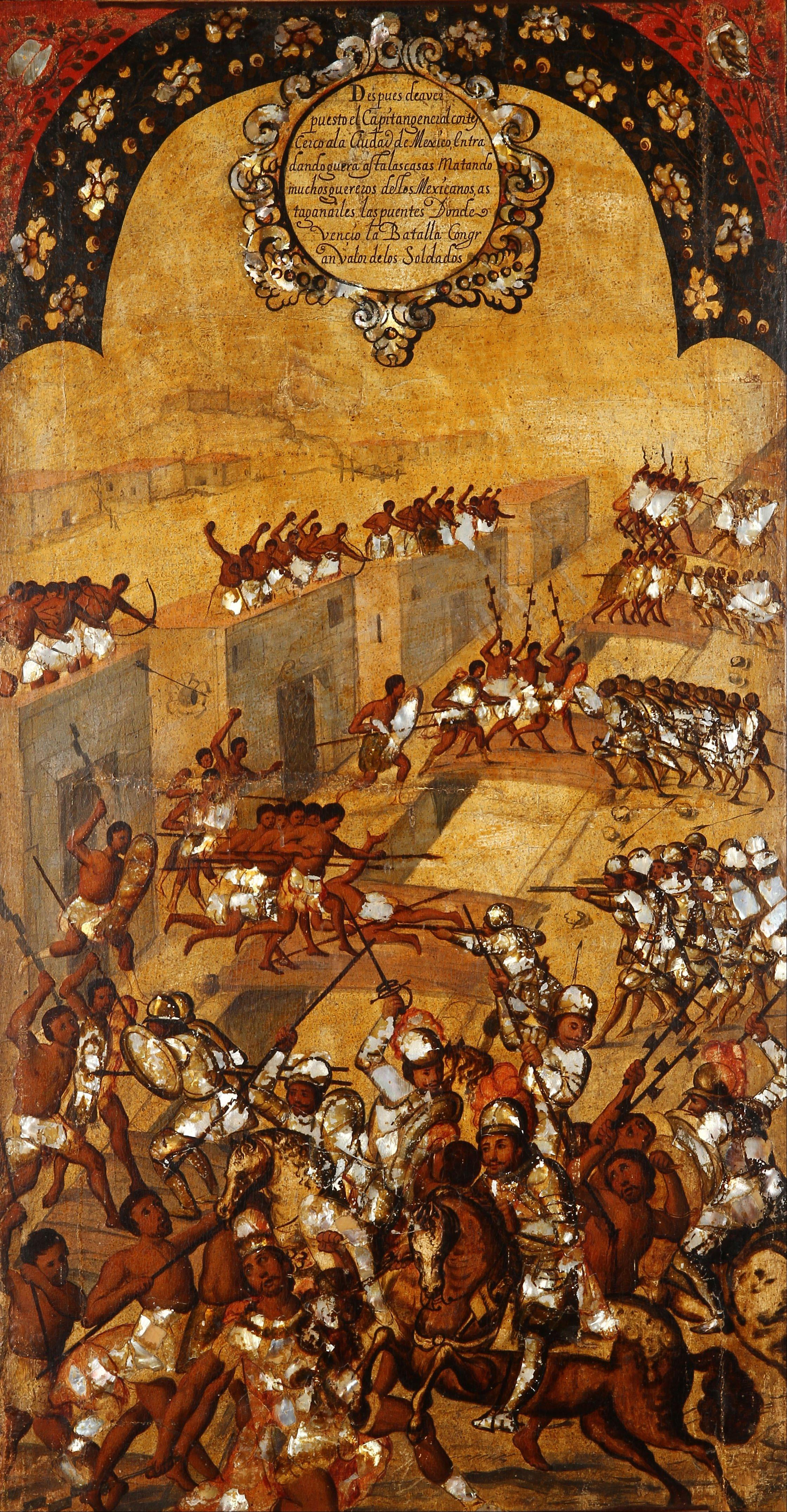 Resultado de imagen para Tablas de la Conquista de México, Miguel Gonzales