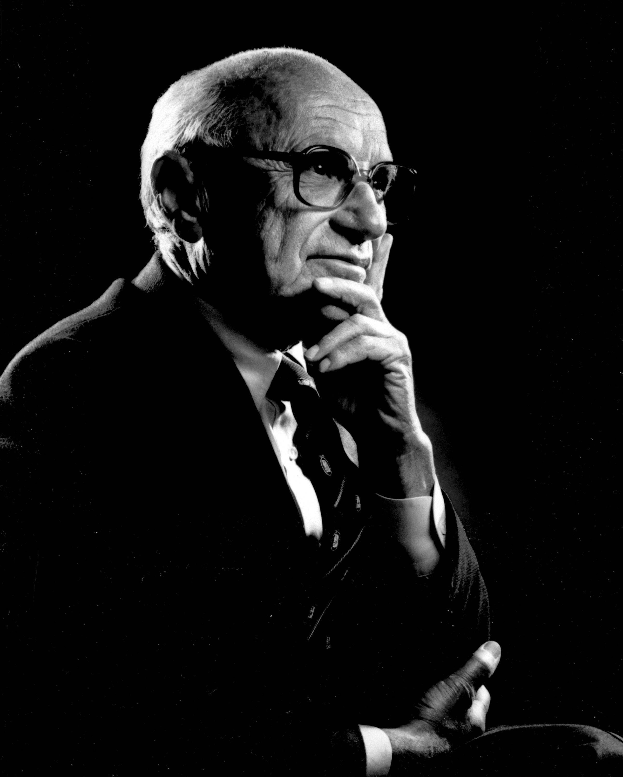 "the life and works of milton friedman 218 quotes from milton friedman: 'a society that puts equality before freedom will get neither  ""most of the energy of political work is devoted to correcting ."