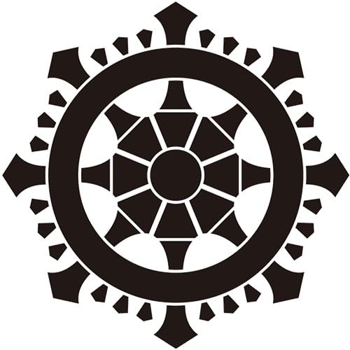 Miyake-rimpo crest