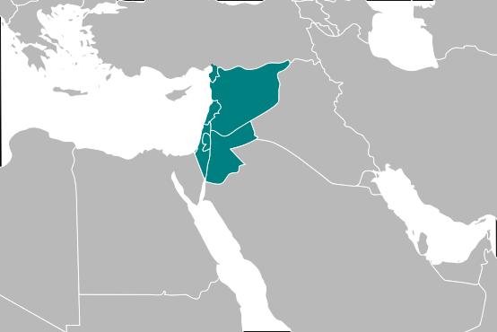 Resultado de imagen de Al-Sham, la Gran Siria
