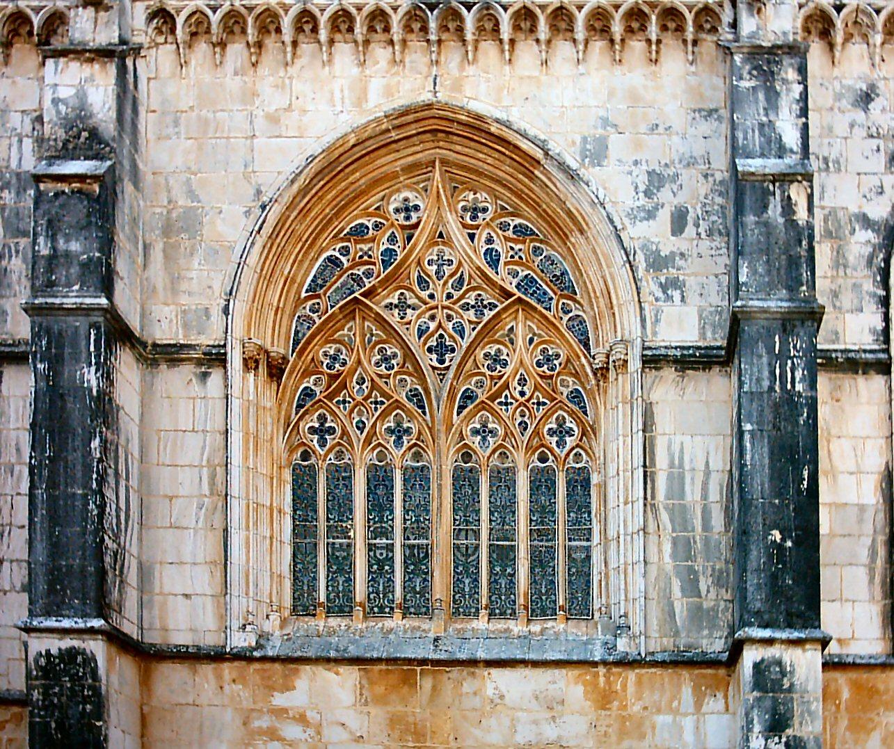 #72411A File:Mosteiro da Batalha (14).JPG Wikimedia Commons 3564 Casas Com Janelas Em Arco