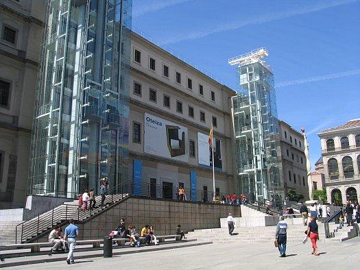 Museo reina sof a wikipedia - Centro nacional del vidrio ...