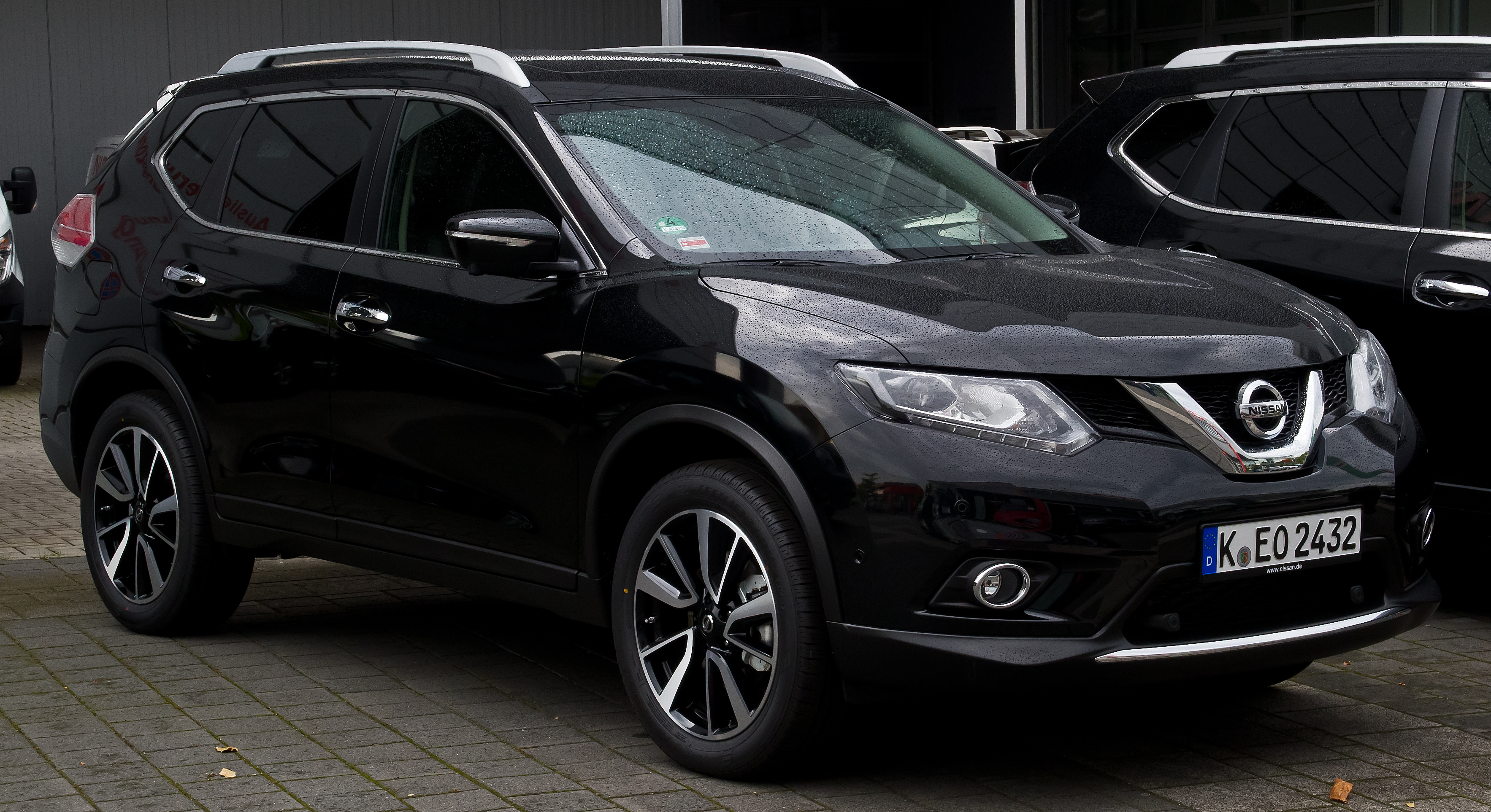 nissan x trail 1 6 dci all mode 4x4i tekna t32 frontansicht 24 august 2014. Black Bedroom Furniture Sets. Home Design Ideas
