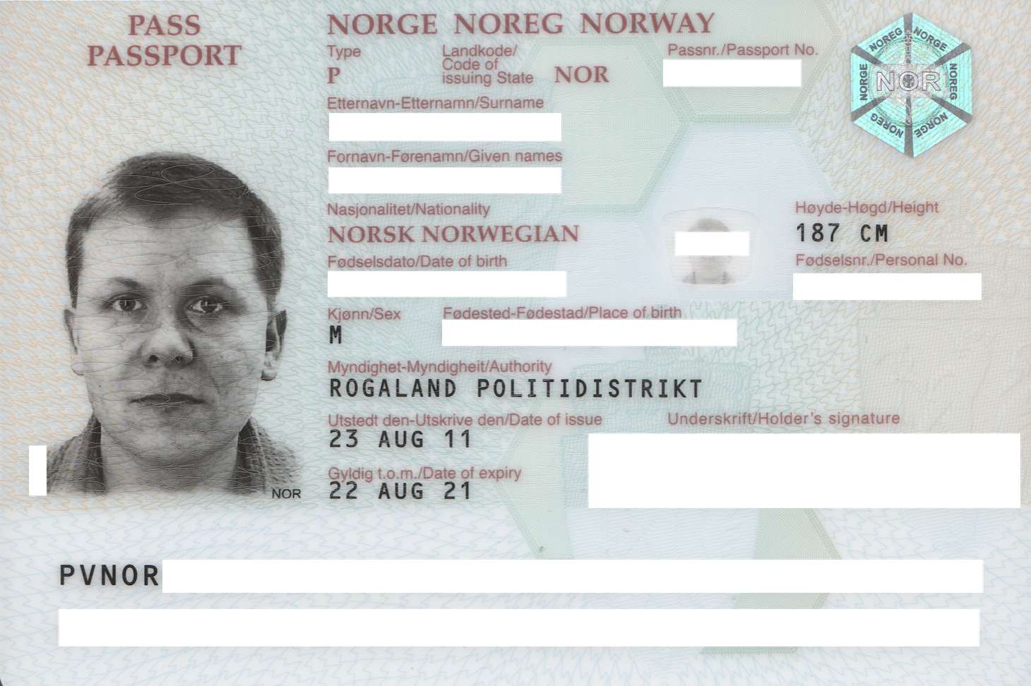 Norwegian Passport Wikiwand