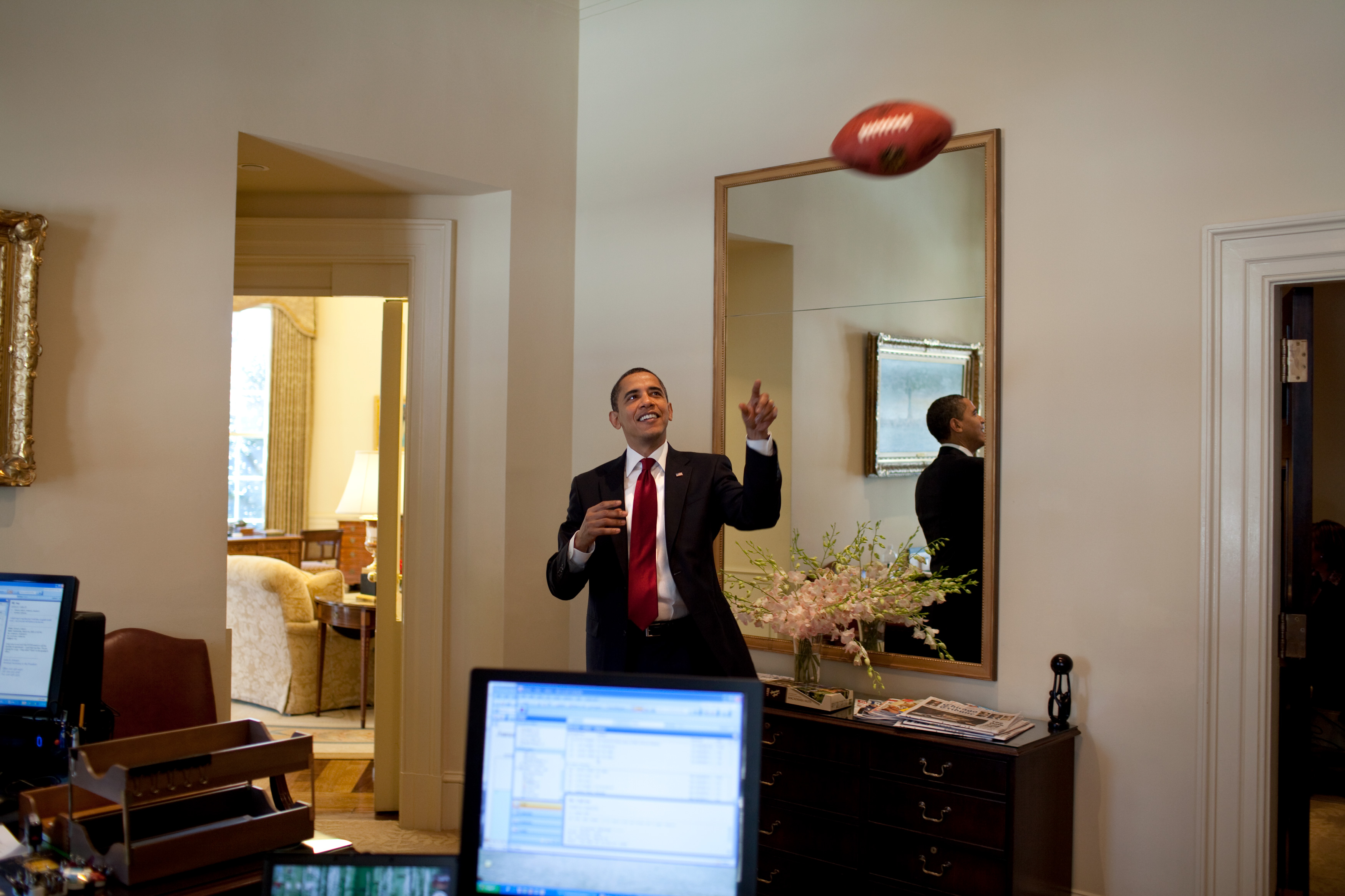 west wing oval office. File:Obama Playing With A Football In The West Wing.jpg Wing Oval Office