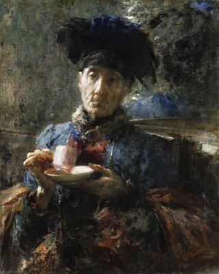 File:Old Woman Drinking Tea.jpg