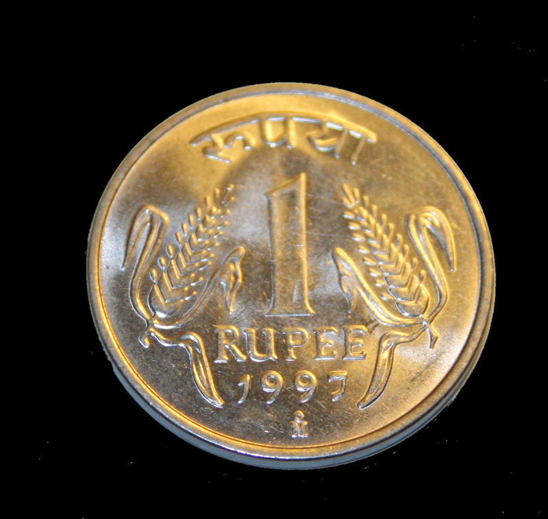 One rupee (Indian coin) - Wikipedia