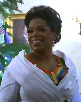 English: Oprah Winfrey at the White House for ...