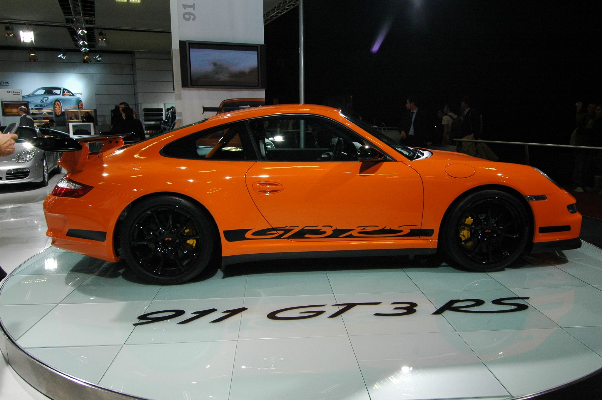 FileOrange Porsche 911 GT3 RS Type 997 (side)