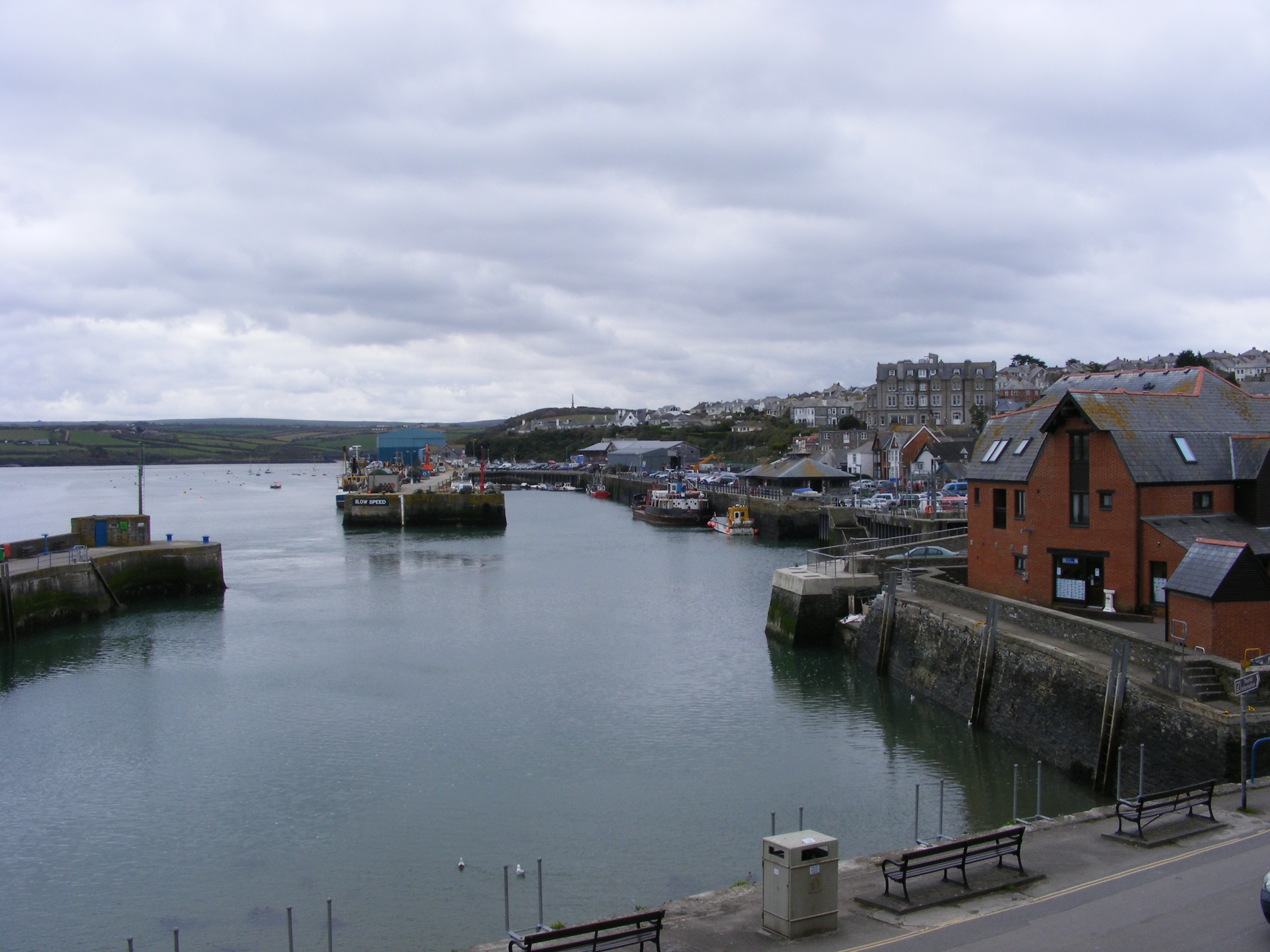Outer Harbour File:padstow Outer Harbour