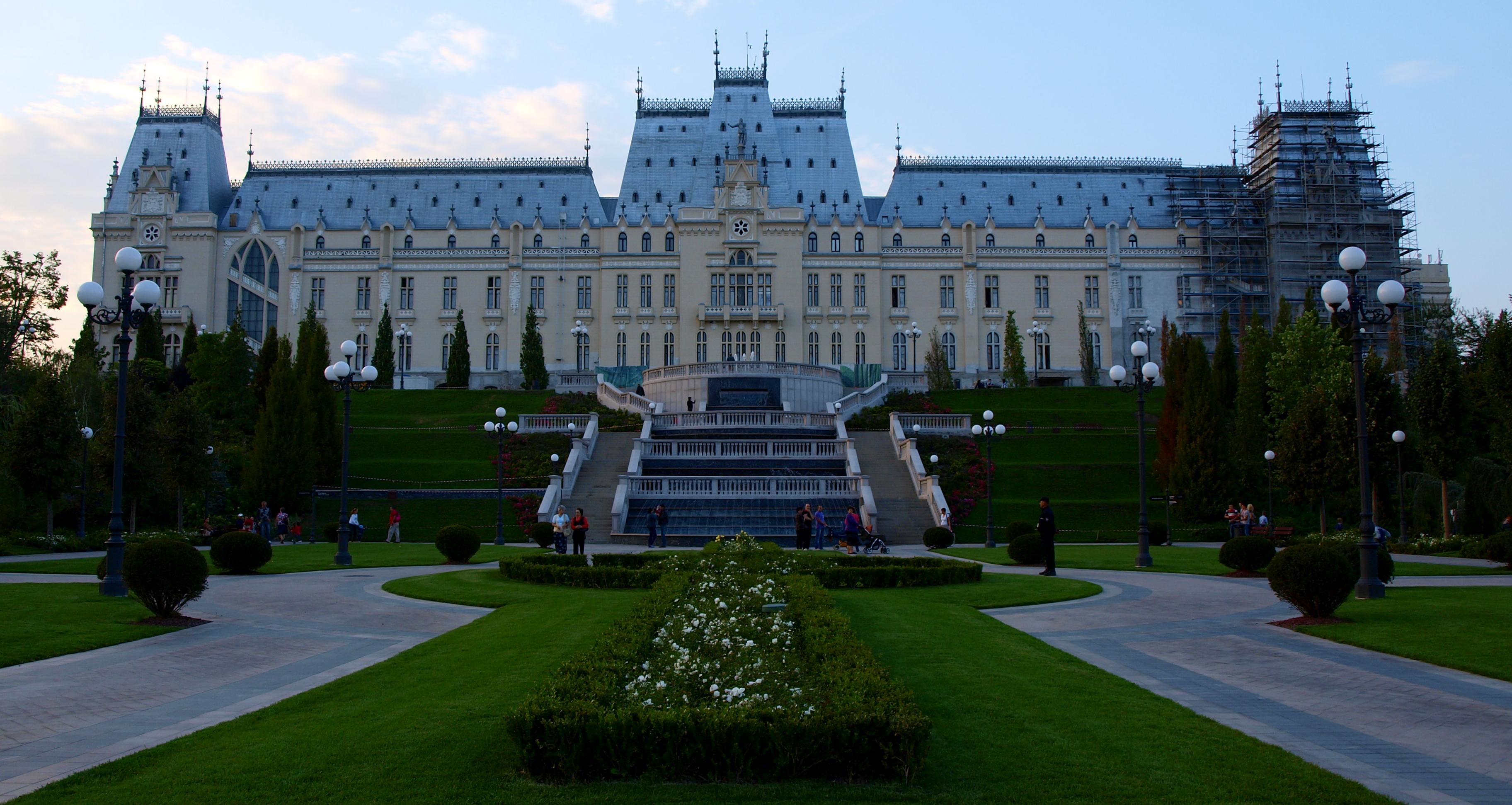 Iasi Romania  city photo : Palatul Culturii din Iasi / Palace of Culture Iasi, Romania