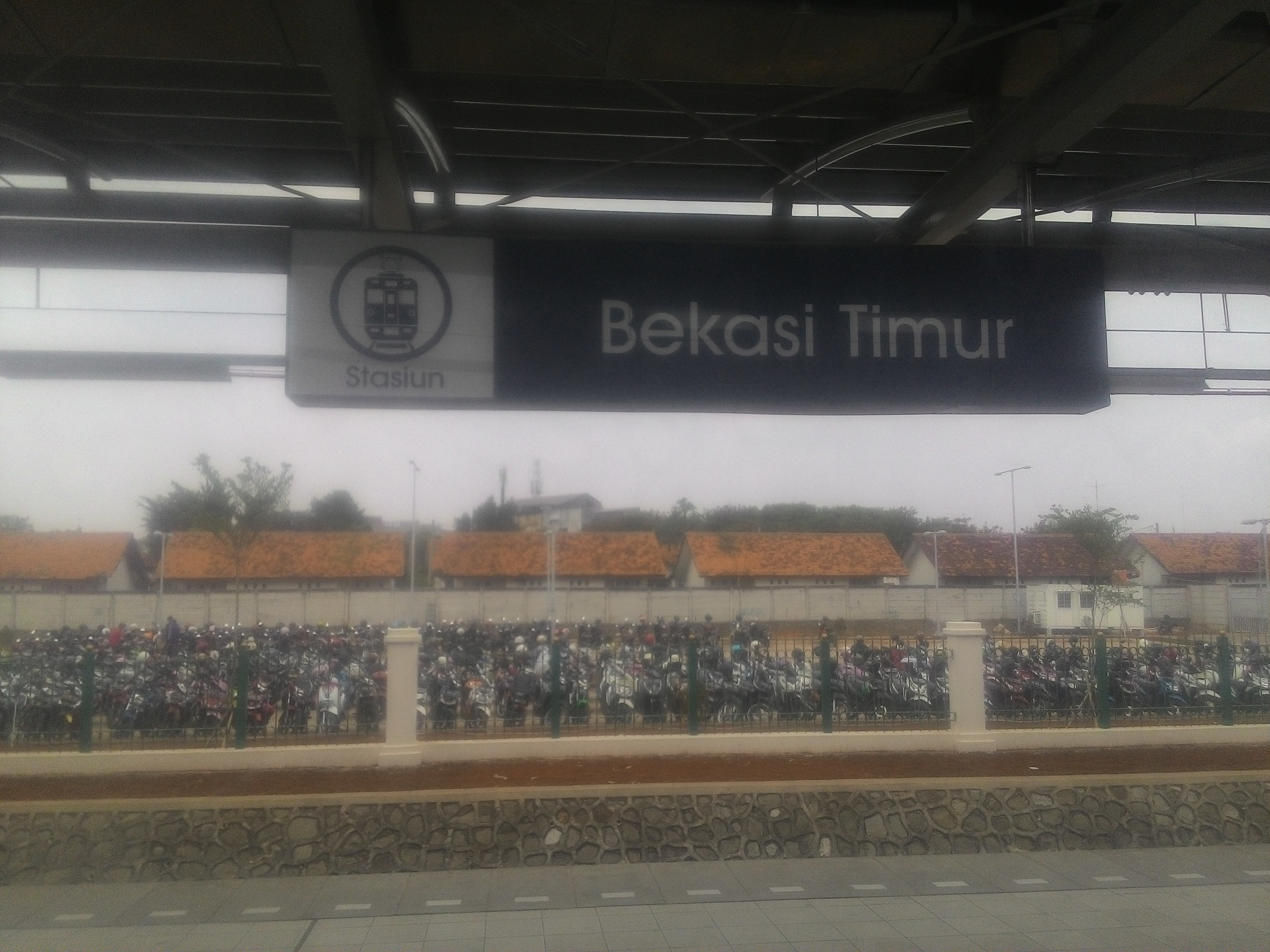 File:Papan Nama Stasiun Bekasi Timur Terbaru 2017.jpg