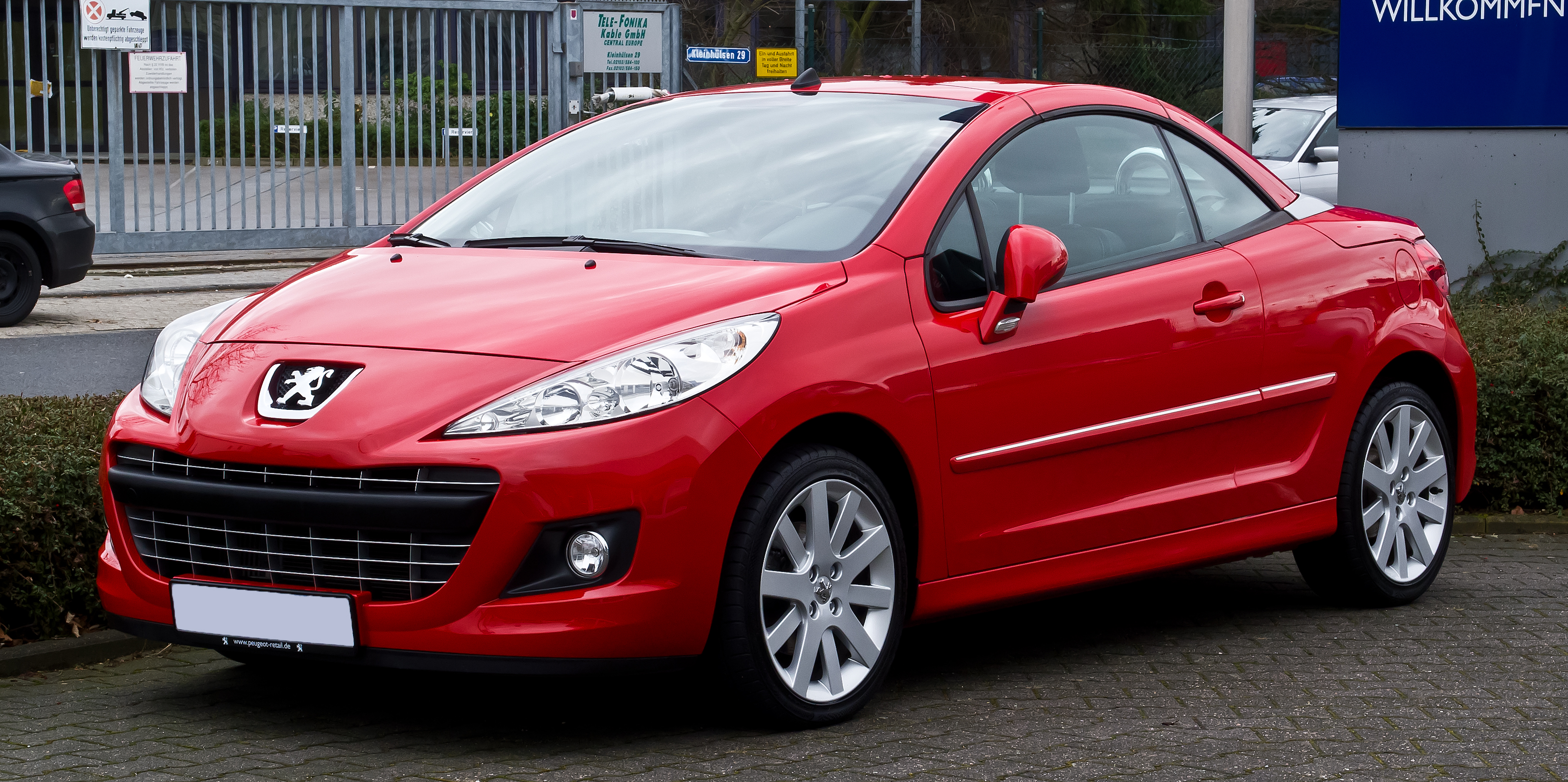 Peugeot 207 Convertible Red Www Pixshark Com Images