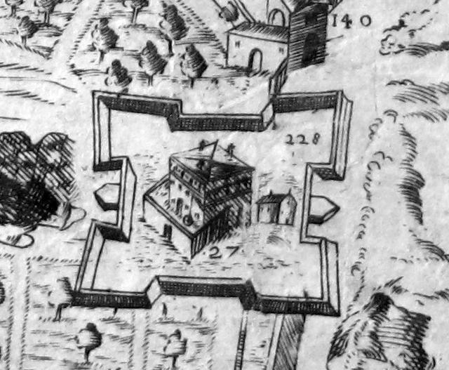 File:Pianta del buonsignori, dettaglio 228 fortezza di belvedere.jpg