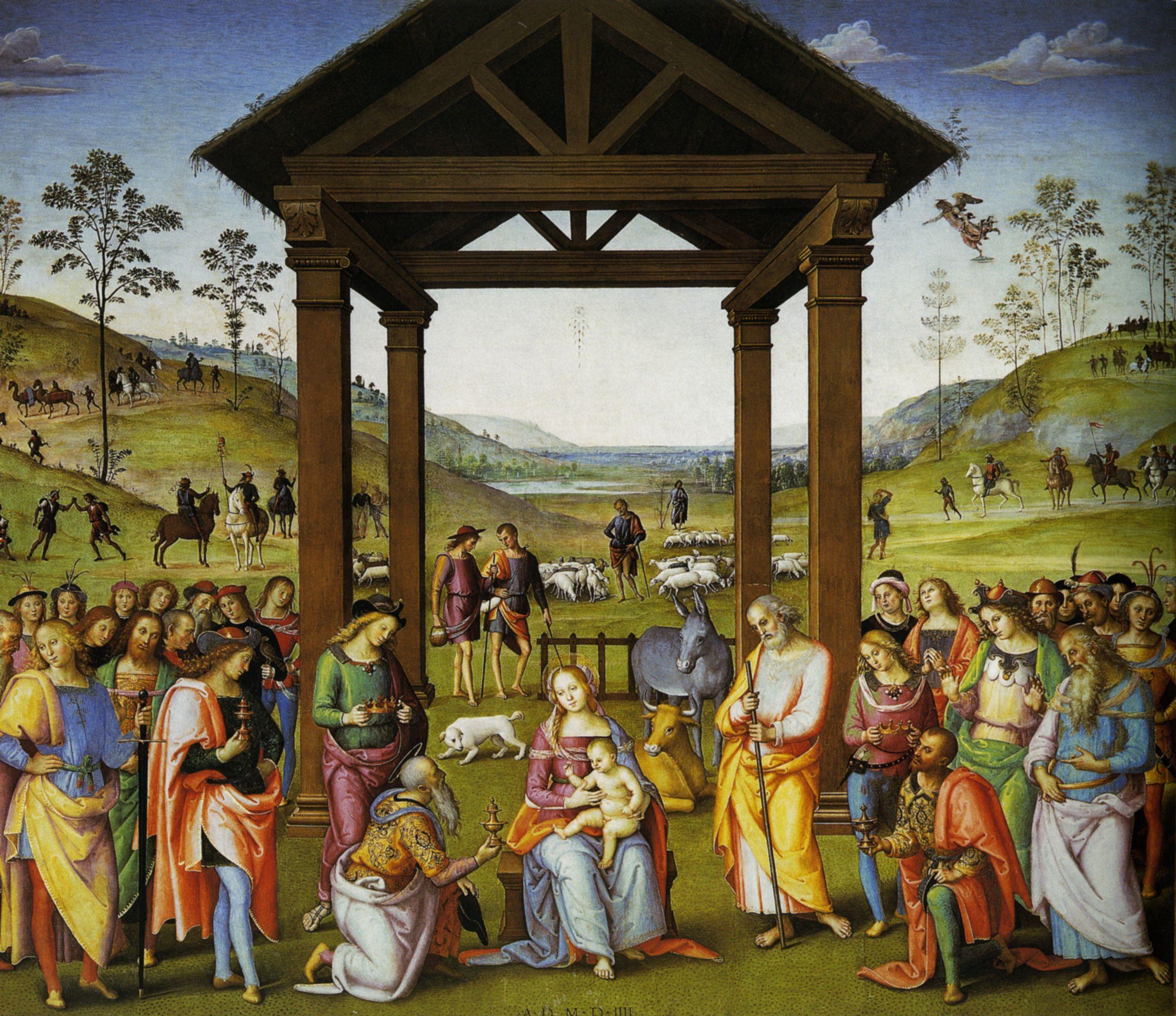 Adoration of the Magi (Perugino, Città della Pieve) - Wikipedia
