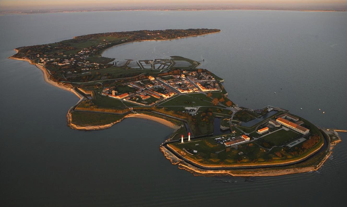 île d'Aix vue de haut