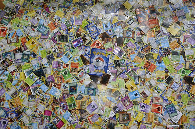 Collection of pokemon cards