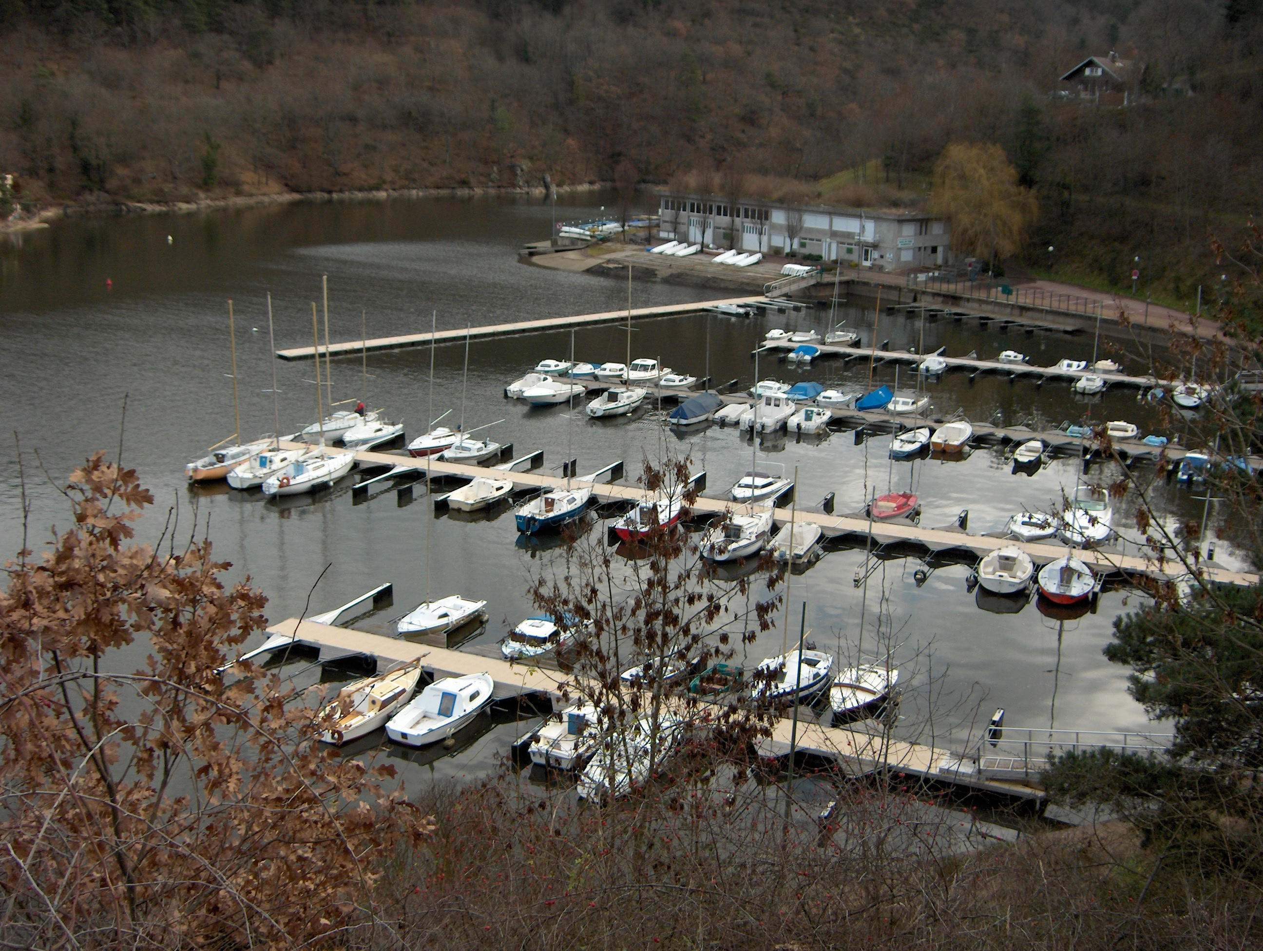 Fichier Port De Plaisance St Victor Sur Loire Jpg Wikip 233 Dia