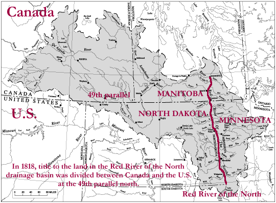 Red River Valley Wikiwand - Us map red river
