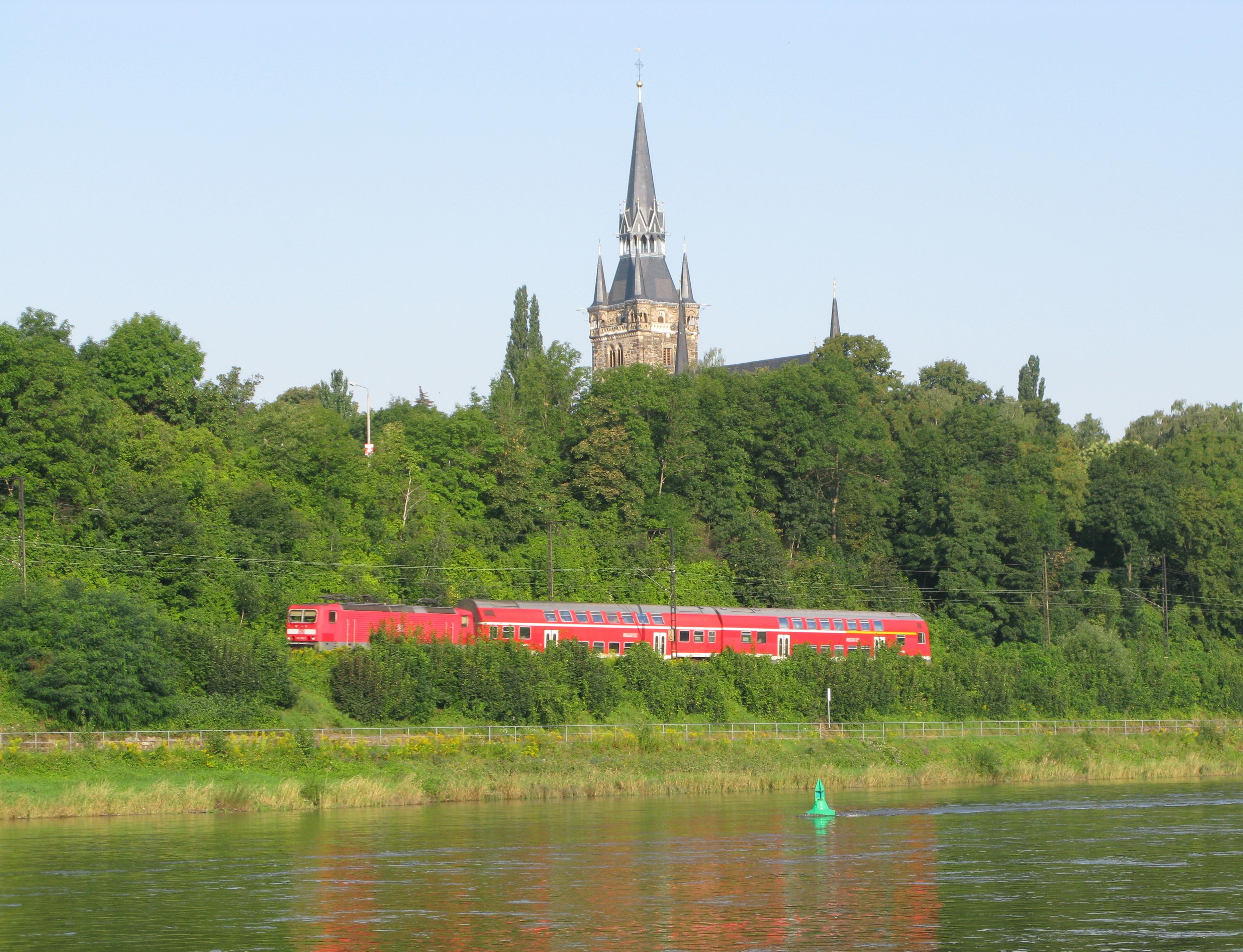 Berlin dresden railway wikiwand for Berlin to dresden train