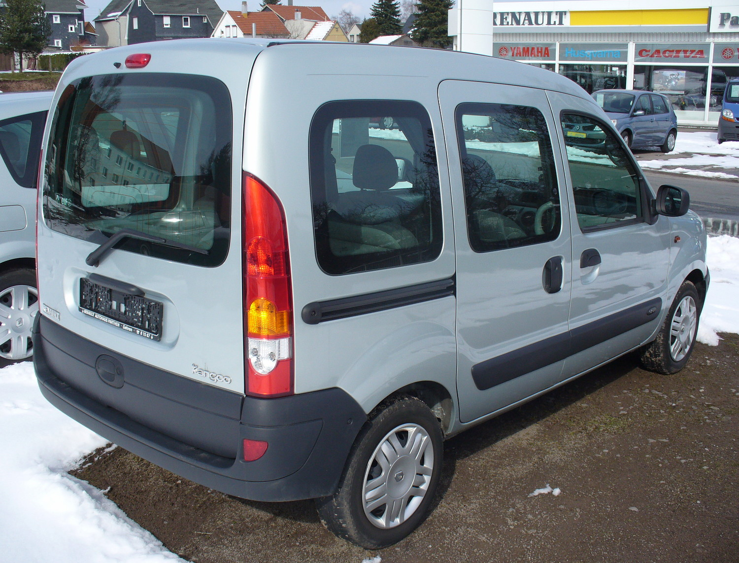 file renault kangoo i phase ii 1 2 16v heck jpg. Black Bedroom Furniture Sets. Home Design Ideas