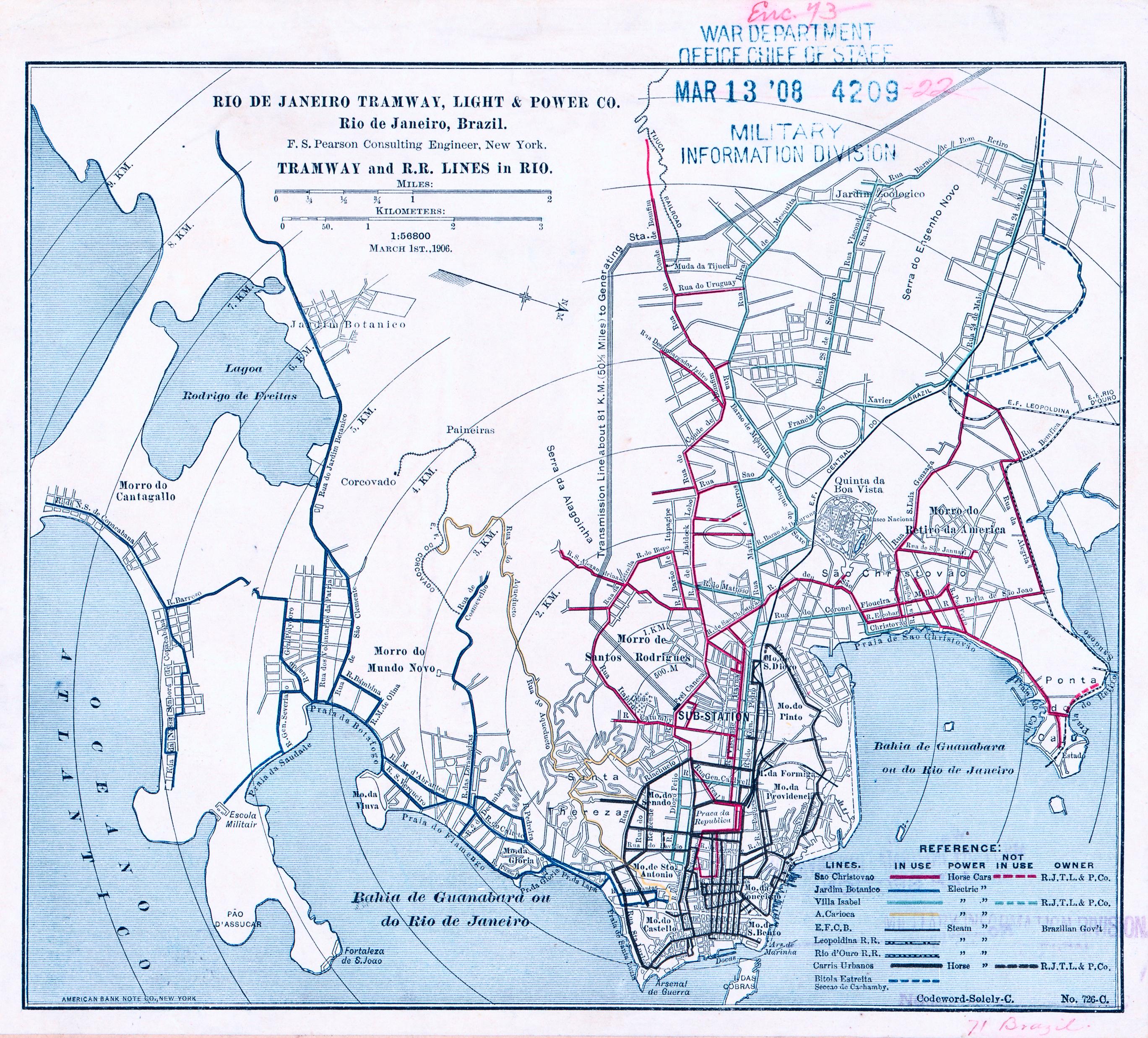 File:Rio de Janeiro Tramway Map 1906.jpeg - Wikimedia Commons