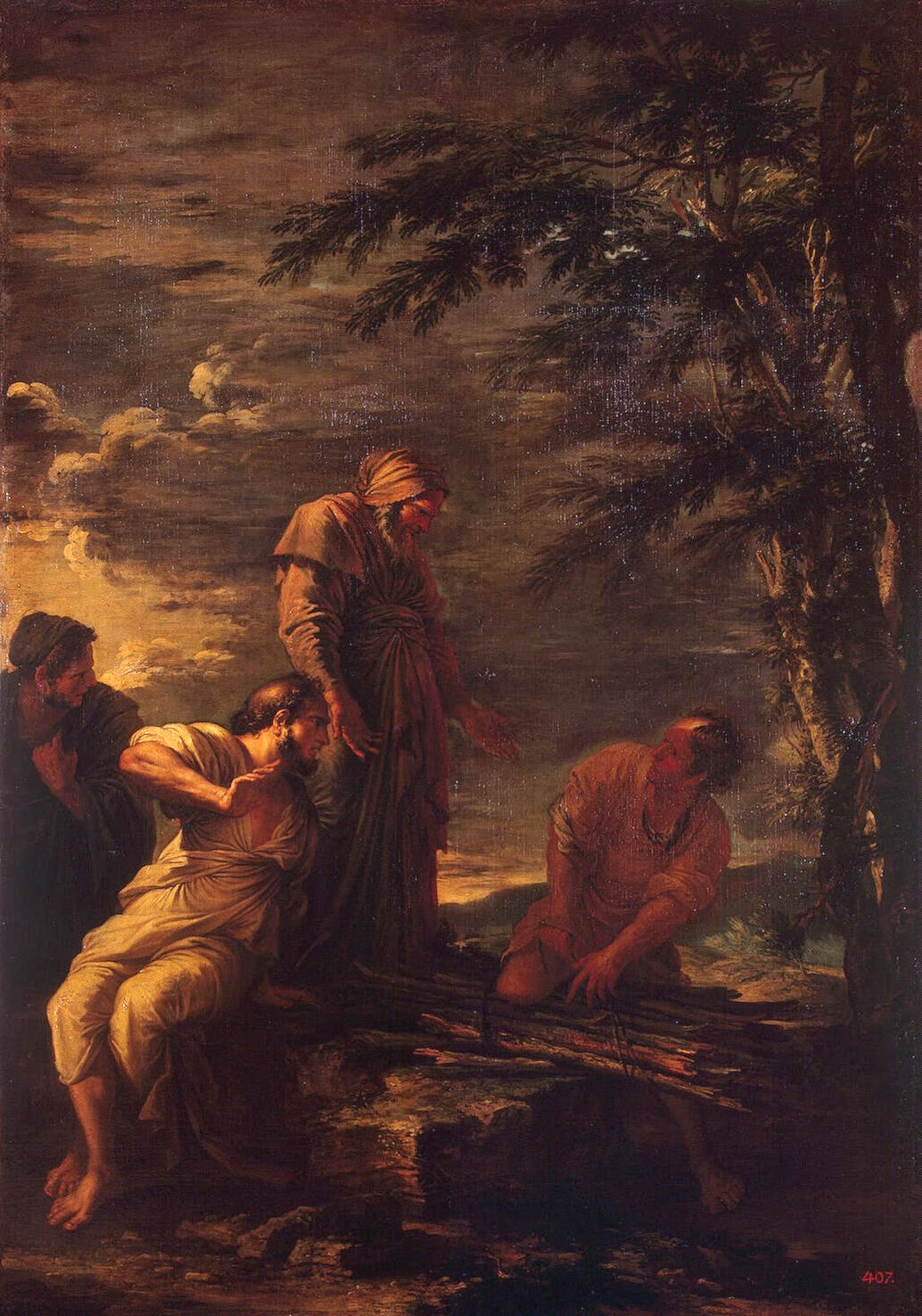 Protagora (al centro) insieme a Democrito (seduto a sinistra) opera di Salvator Rosa