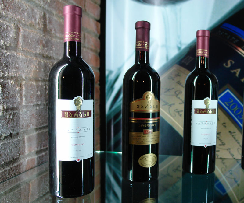 Дом грузинского вина - Галерея вин
