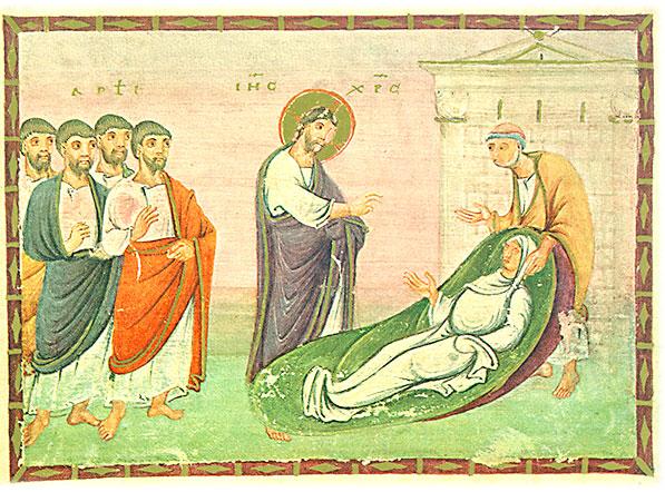Wunderheilung Jesus