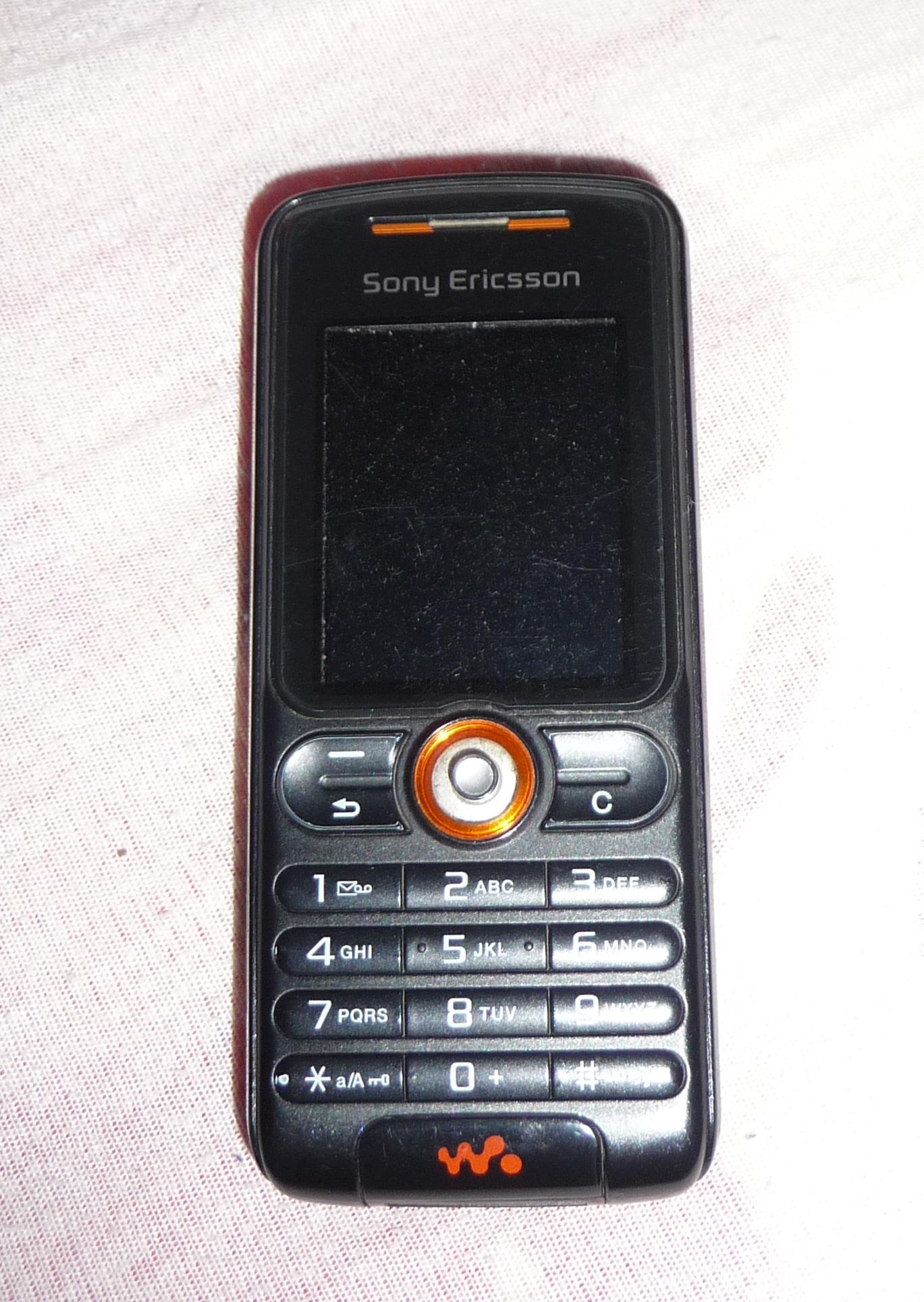 file sony ericsson w200i rythm black 1 jpg wikimedia commons rh commons wikimedia org Sony Ericsson Mobile Phones Sony Ericsson Products
