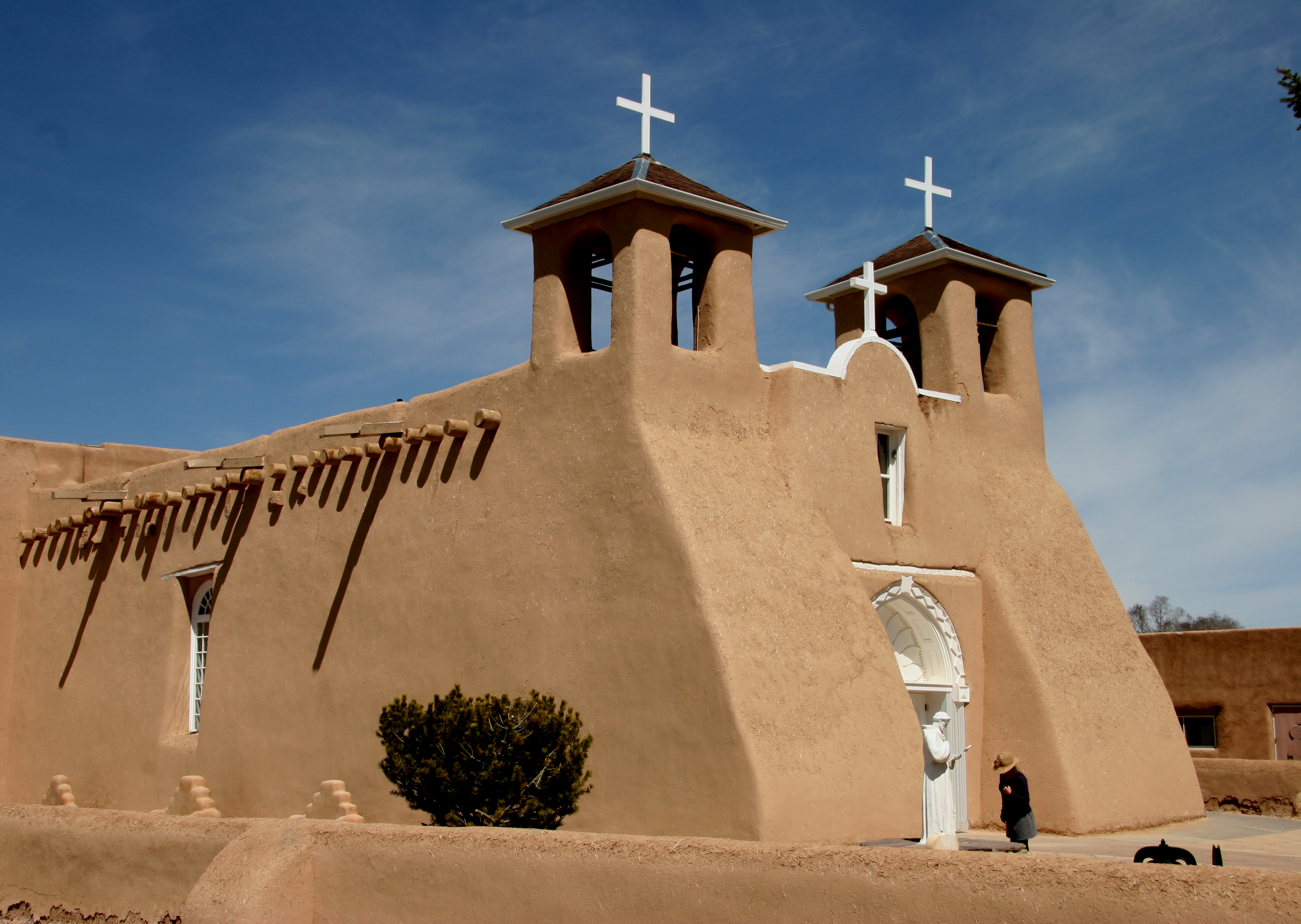 New mexico taos county llano - San Francisco De Asis Church At Ranchos De Taos