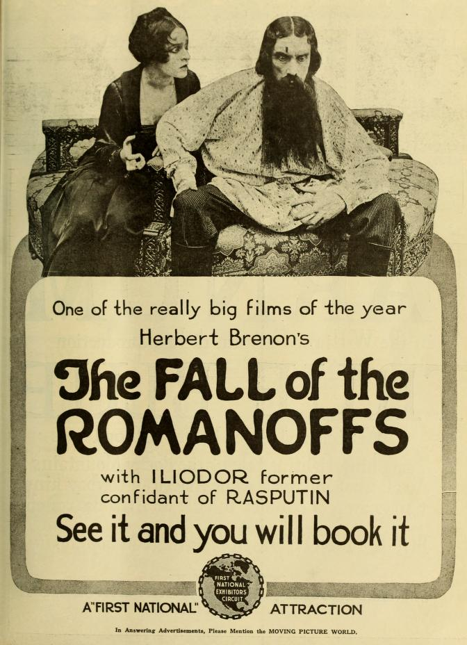 romanovs fall Here are a number of written sources that may assist your research on the role of rasputin in the fall of the romanovs what does source a suggest about rasputin's scope of power over the tsarina what does source b indicate about rasputin's character.