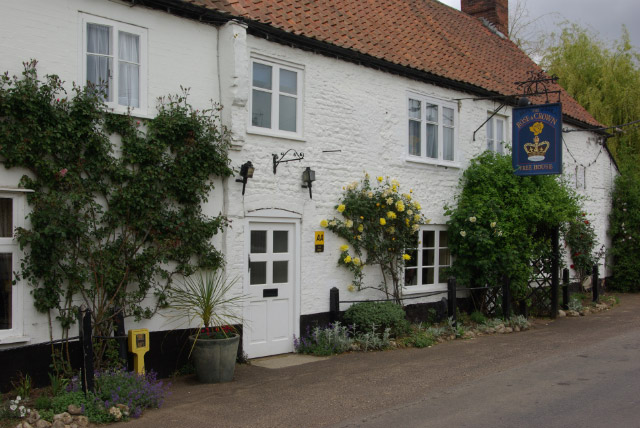 Creative Commons image of The Rose & Crown in Kings Lynn