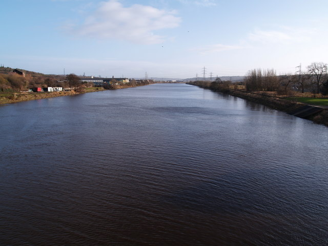 The Tyne from Newburn Bridge - geograph.org.uk - 675642