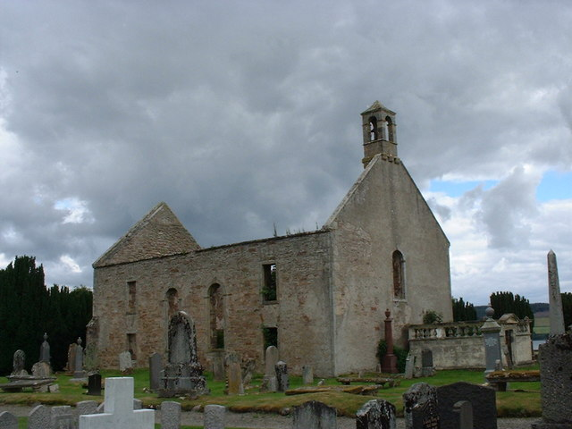 The old church at Kiltearn burial ground - geograph.org.uk - 207661