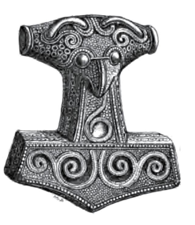what 39 s the history behind this common depiction of mjölnir