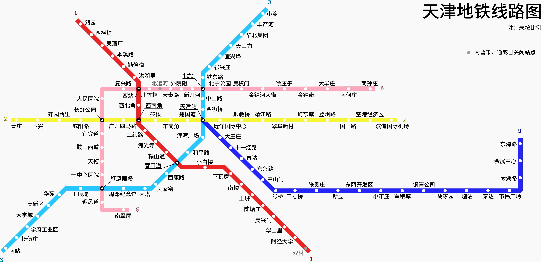 Tianjin Subway Map.File Tianjin Metro System Map Simplified Chinese Png Wikimedia Commons