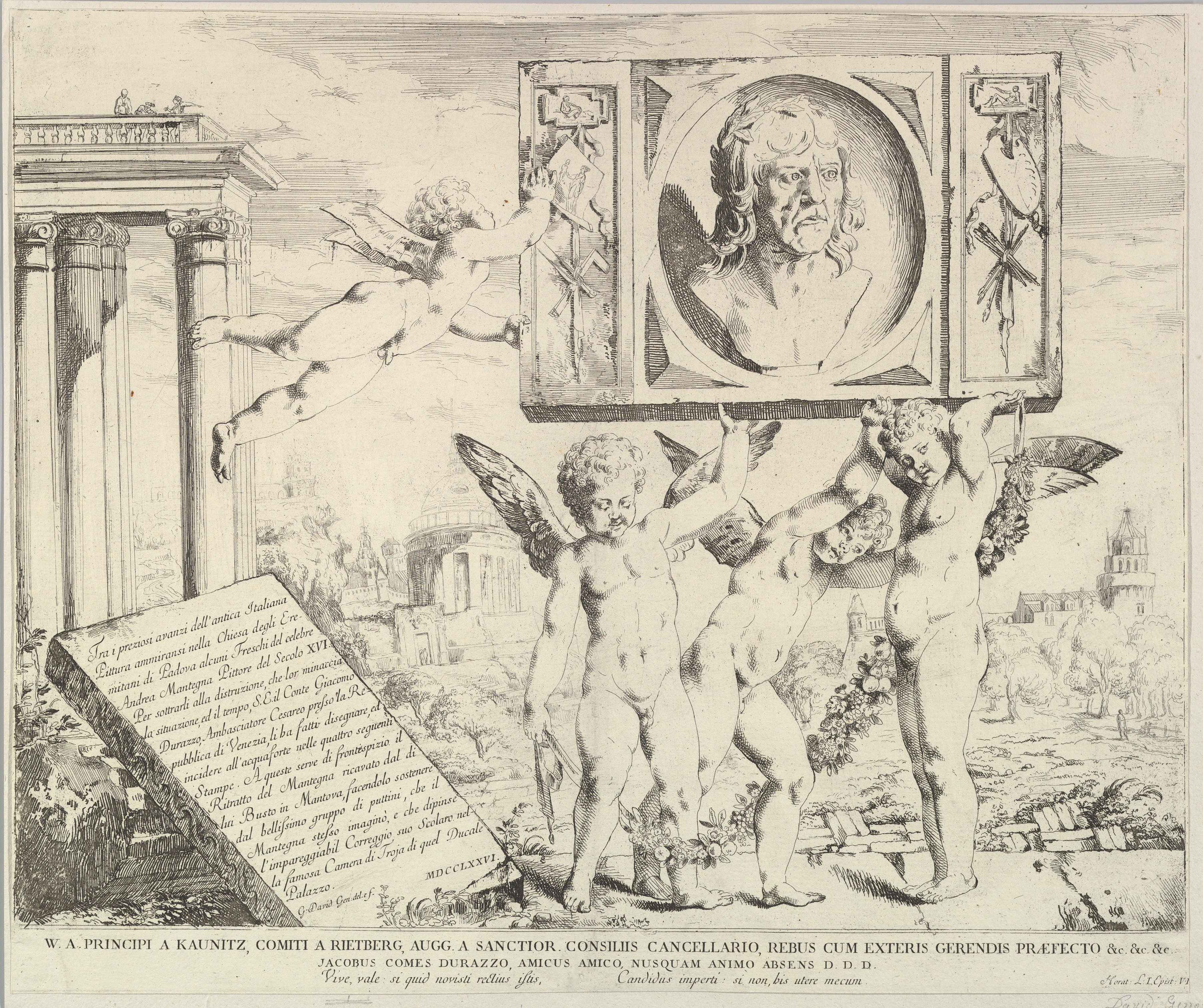 file title plate to set of four prints plus this title page of