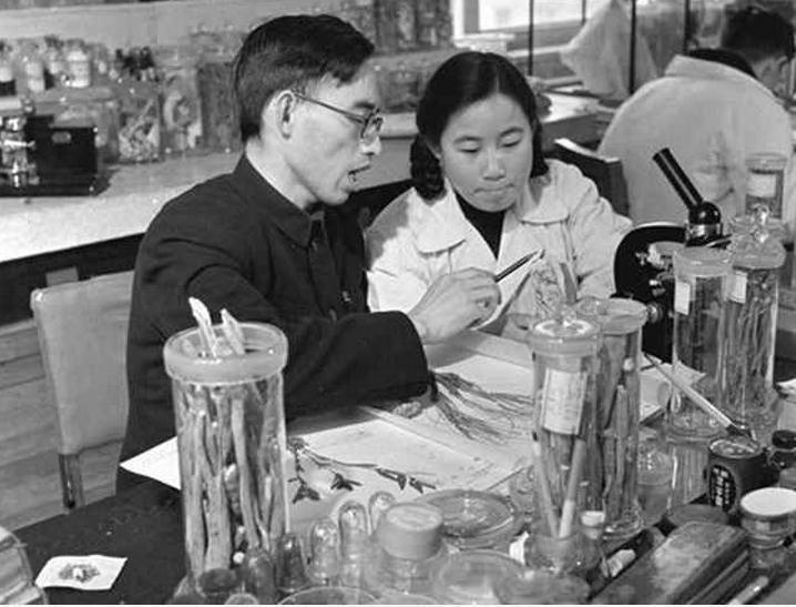 Tu Youyou in 1950s