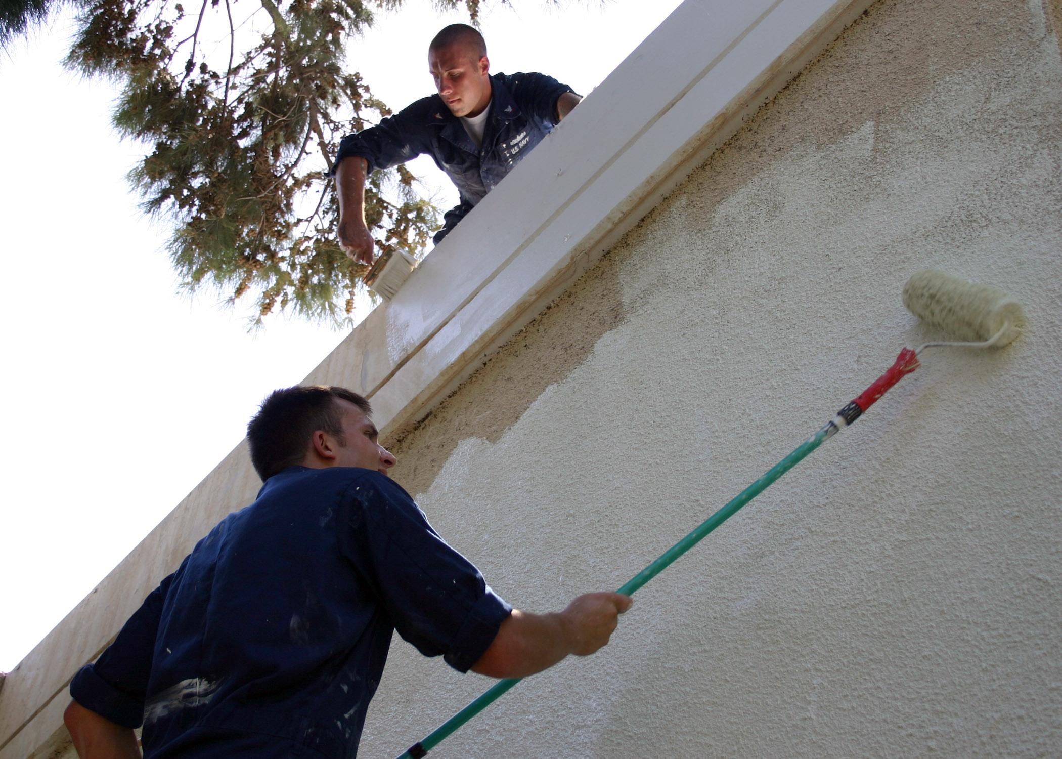 File us navy 060904 n 3594v 001 interior communications for Miller exterior paint