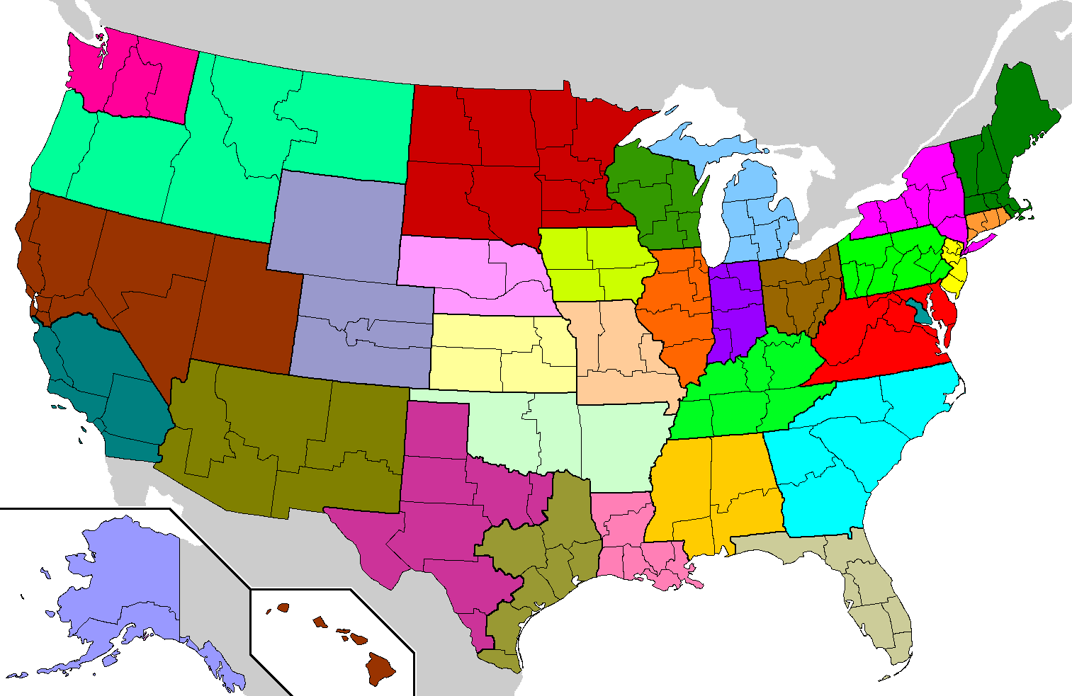 File:US Roman Catholic dioceses map.png - Wikimedia Commons