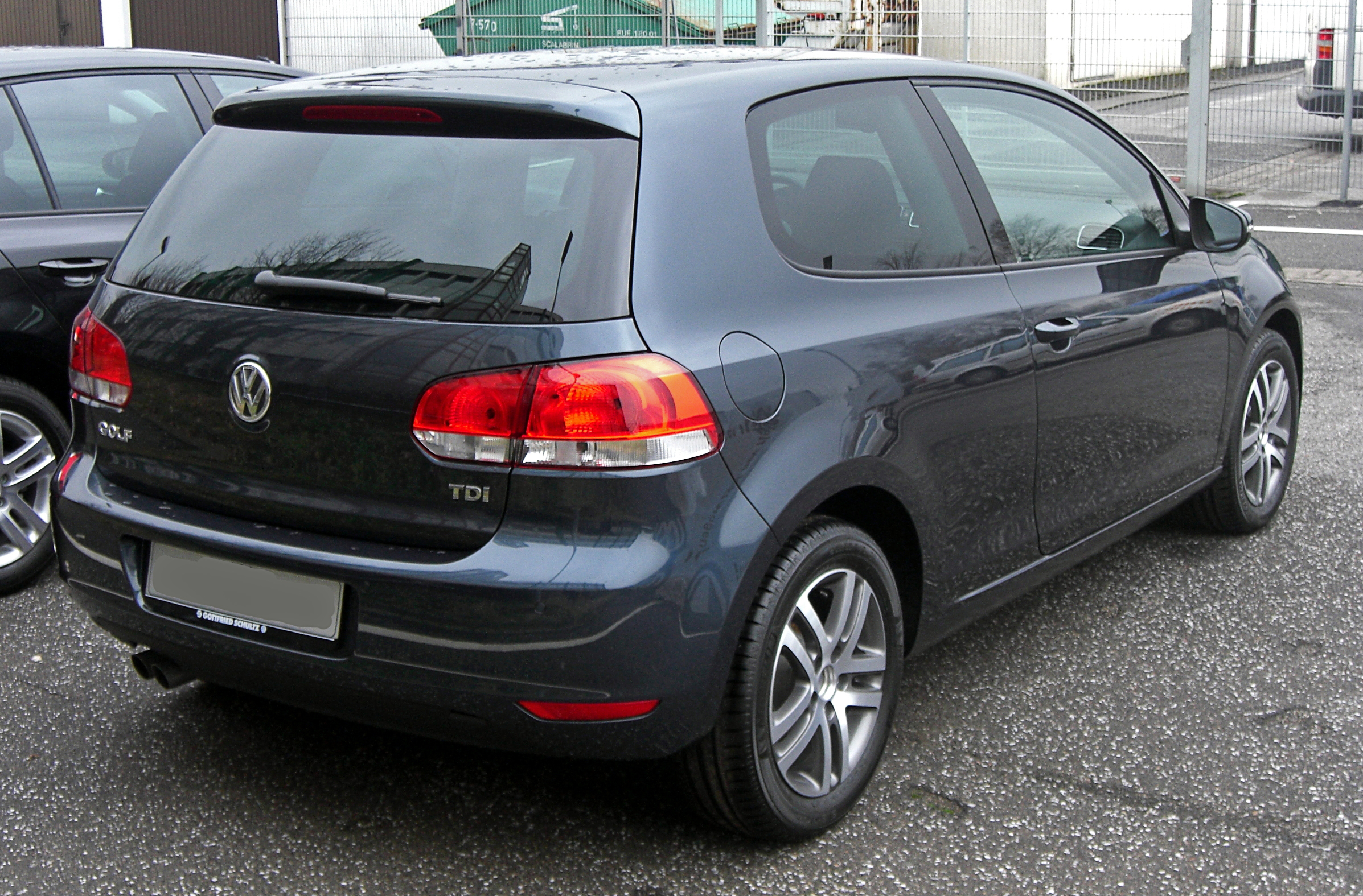 file vw golf vi rear 1 jpg wikimedia commons. Black Bedroom Furniture Sets. Home Design Ideas