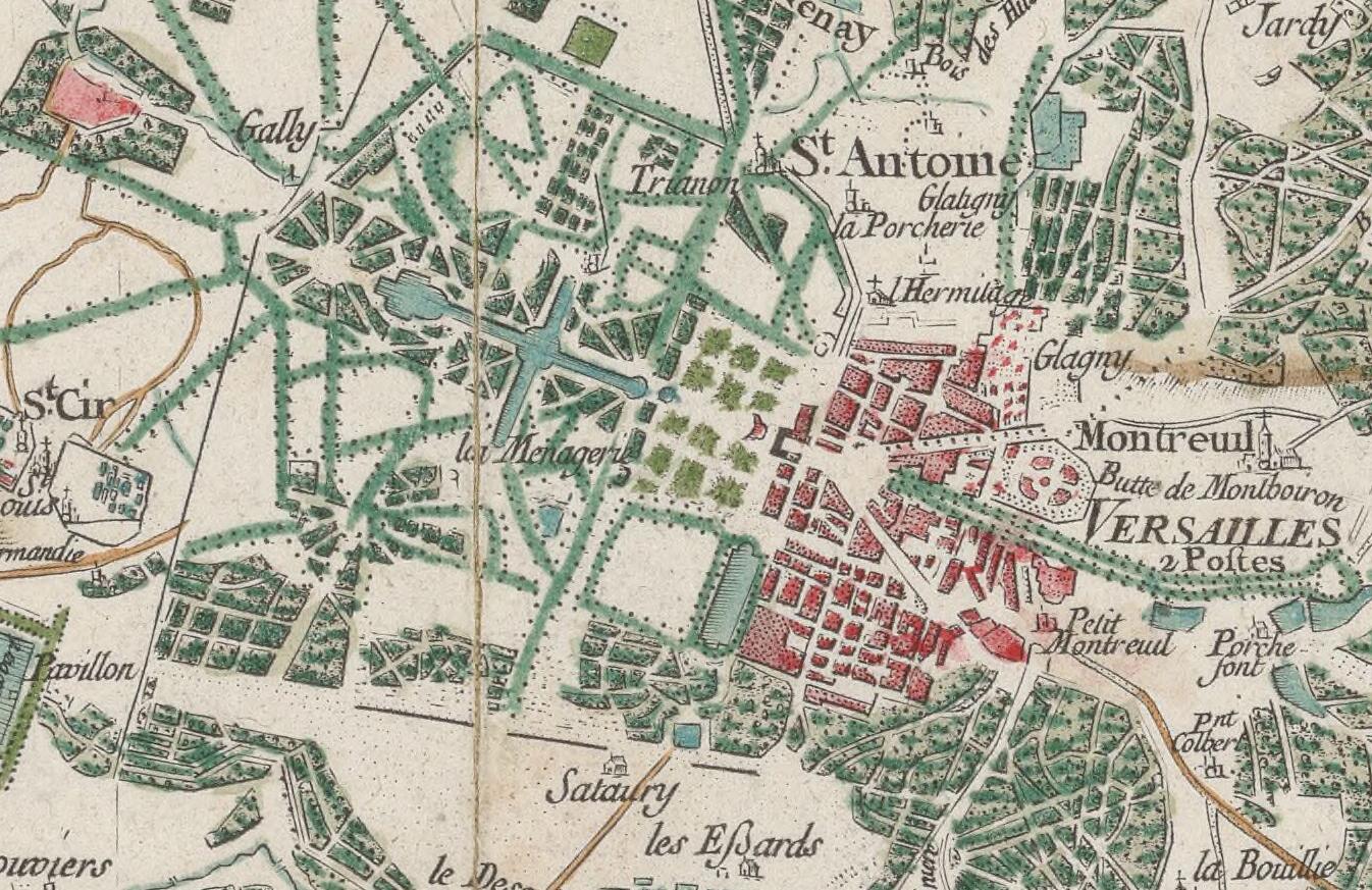 Chantilly Plan De La Ville